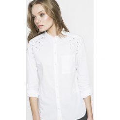 Tally Weijl - Koszula. Koszule damskie TALLY WEIJL, z bawełny, casualowe, z klasycznym kołnierzykiem, z długim rękawem. W wyprzedaży za 59.90 zł.