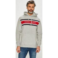 Tommy Jeans - Bluza. Szare bluzy męskie Tommy Jeans, z bawełny. Za 449.90 zł.