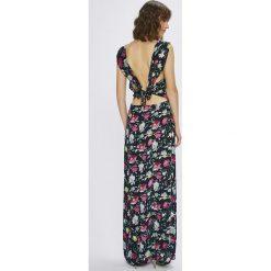Answear - Sukienka. Szare sukienki damskie ANSWEAR, z tkaniny, casualowe. W wyprzedaży za 99.90 zł.