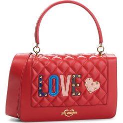 Torebka LOVE MOSCHINO - JC4225PP06KC0500 Rosso. Czerwone torebki do ręki damskie Love Moschino, ze skóry ekologicznej. Za 919.00 zł.
