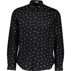 Koszula - Slim fit - w kolorze czarnym. Czarne koszule męskie Ben Sherman, z bawełny, z klasycznym kołnierzykiem. W wyprzedaży za 152.95 zł.