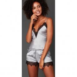 Etam - Szorty piżamowe 650107296. Brązowe piżamy damskie Etam, z dzianiny. Za 99.90 zł.