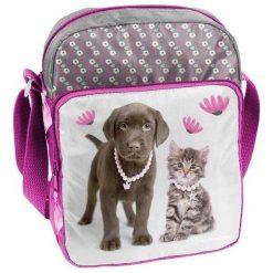 PASO Torba dziecięca Rachael Hale szaro-różowa (RLA-108). Czerwone torby i plecaki dziecięce PASO. Za 39.49 zł.