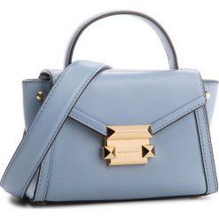 Torebka MICHAEL MICHAEL KORS - Whitney 30T8GXIM1L Pale Blue. Niebieskie torebki do ręki damskie MICHAEL Michael Kors, ze skóry. W wyprzedaży za 759.00 zł.