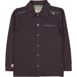 """Koszula """"Feeling Free"""" w kolorze fioletowo-antracytowym. Szare koszule dla chłopców marki 4FunkyFlavours Kids, z klasycznym kołnierzykiem. W wyprzedaży za 102.95 zł."""