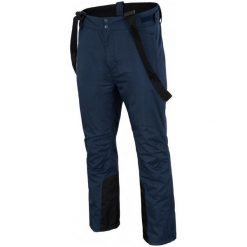 4F Męskie Spodnie Narciarskie H4Z17 spmn001 Granatowy Melanż Xl. Niebieskie spodnie sportowe męskie 4f, melanż, z włókna. W wyprzedaży za 179.00 zł.