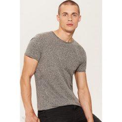 T-shirt basic - Czarny. Czarne t-shirty męskie House. Za 35.99 zł.