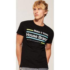 T-shirt Czarny. Czarne t-shirty męskie House. Za 29.99 zł.