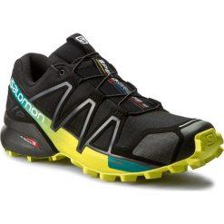 Buty SALOMON - Speedcross 4 392398 28 V0 Black/Everglade/Sulphur Spring. Czarne buty sportowe męskie Salomon, z materiału. W wyprzedaży za 349.00 zł.