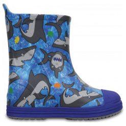 Crocs Kalosze Bump It Graphic Blue. Kalosze chłopięce marki Aigle. W wyprzedaży za 149.00 zł.