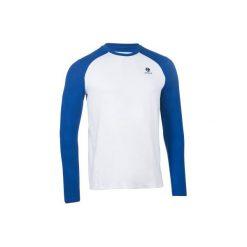 T-Shirt tenisowy Thermic. Białe bluzki z długim rękawem męskie ARTENGO. Za 39.99 zł.