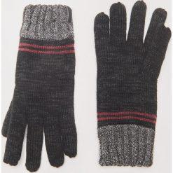 Rękawiczki - Jasny szar. Czarne rękawiczki męskie House. Za 39.99 zł.