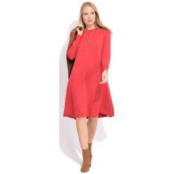 Fille Du Couturier Sukienka Damska Suzie 38 Czerwony. Czerwone sukienki damskie Fille Du Couturier, eleganckie, z długim rękawem. W wyprzedaży za 299.00 zł.