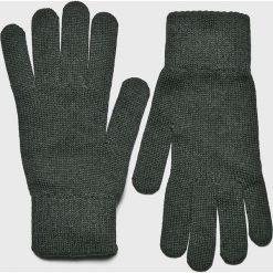 Mustang - Rękawiczki. Szare rękawiczki męskie Mustang, z bawełny. W wyprzedaży za 49.90 zł.