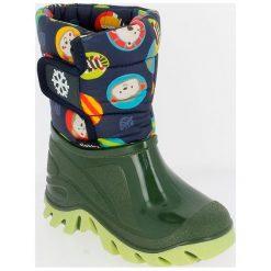 V+J Buty Zimowe Chłopięce 24-25 Zielony. Zielone buty zimowe chłopięce V+J. Za 105.00 zł.