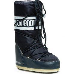 Śniegowce MOON BOOT - Nylon 14004400064 Blue Jeans D. Niebieskie kozaki damskie Moon Boot, z jeansu. Za 359.00 zł.