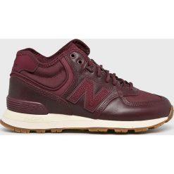 New Balance - Buty WH574BC. Brązowe obuwie sportowe damskie New Balance, z gumy. Za 449.90 zł.