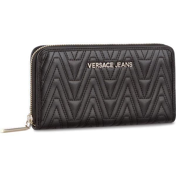 831e606e3f806 Duży Portfel Damski VERSACE JEANS - E3VRBPY2 899 - Portfele damskie marki Versace  Jeans, z jeansu. W wyprzedaży za 259.00 zł. - Portfele damskie - Akcesoria  ...