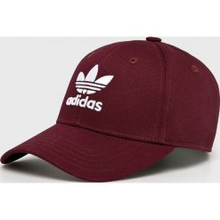 Adidas Originals - Czapka. Brązowe czapki i kapelusze damskie adidas Originals, z bawełny. Za 69.90 zł.