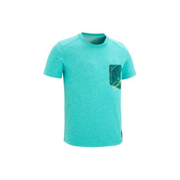 83b37522a723c7 Koszulka turystyczna MH100 dla chłopców - T-shirty dla chłopców ...