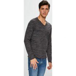 S. Oliver - Longsleeve. Szare bluzki z długim rękawem męskie S.Oliver, z bawełny, polo. Za 119.90 zł.