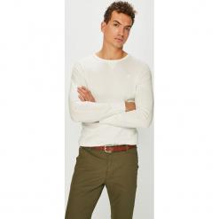 G-Star Raw - T-shirt. Szare bluzki z długim rękawem męskie G-Star Raw, z nadrukiem, z bawełny, z okrągłym kołnierzem. Za 189.90 zł.