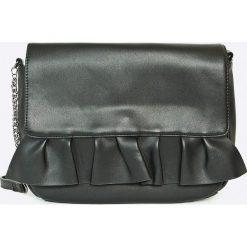 Vero Moda - Torebka Ruffle. Szare torby na ramię damskie Vero Moda. W wyprzedaży za 49.90 zł.
