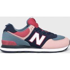 New Balance - Buty ML574INA. Szare buty sportowe męskie New Balance, z gumy. W wyprzedaży za 299.90 zł.