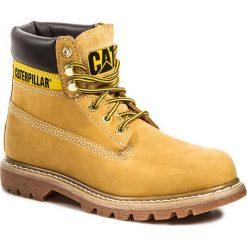Trapery CATERPILLAR - P306831  Żółty. Żółte śniegowce i trapery damskie Caterpillar, z materiału. W wyprzedaży za 369.00 zł.