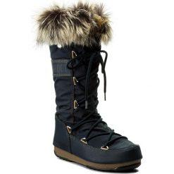 Śniegowce MOON BOOT - Monaco Wp 24002800007 Blu Denim. Niebieskie śniegowce i trapery damskie Moon Boot, z denimu. Za 699.00 zł.