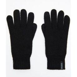 Ocieplane rękawiczki - Czarny. Czarne rękawiczki męskie Cropp. Za 49.99 zł.