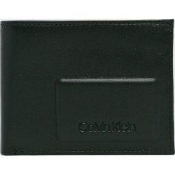 Calvin Klein - Portfel skórzany. Czarne portfele męskie Calvin Klein, z materiału. Za 269.90 zł.