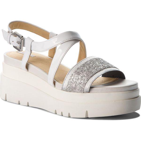 Geox Damskie sandały Torrence B White Silver D92CPB 0BCBN C0007 (rozmiar 40)