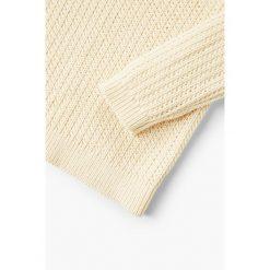 Mango Kids - Sweter dziecięcy Water 110-164 cm. Swetry dla dziewczynek Mango Kids, z bawełny, z okrągłym kołnierzem. Za 79.90 zł.