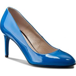 Szpilki GINO ROSSI - Adel DCG315-Q35-JE00-5300-0 55. Niebieskie szpilki damskie Gino Rossi, z lakierowanej skóry. W wyprzedaży za 209.00 zł.