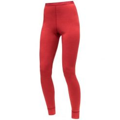 Devold Damskie Spodnie Expedition Woman Long Johns, Chilli, S. Różowe spodnie sportowe damskie Devold, z wełny. Za 299.00 zł.