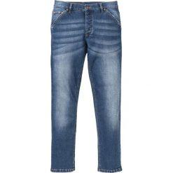 """Dżinsy ze stretchem Slim Fit Straight bonprix Niebieski """"stone"""" Used. Niebieskie jeansy męskie bonprix. Za 109.99 zł."""