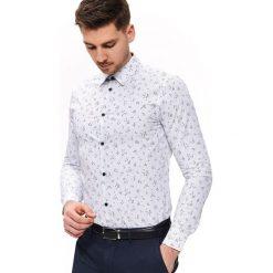 Koszula z wyrazistym nadrukiem luźna Koszule męskie TOP  zwN7g