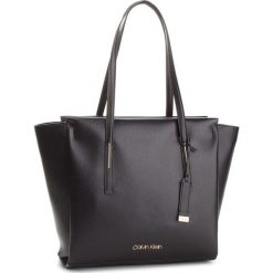 Torebka CALVIN KLEIN - Frame Large Shopper K60K604453 001. Czarne torebki shopper damskie Calvin Klein, ze skóry ekologicznej. Za 649.00 zł.