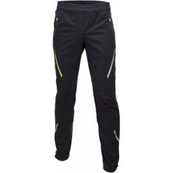 Swix Spodnie Softshell Męskie Cross Czarny L. Czarne spodnie sportowe męskie Swix, z softshellu. Za 359.00 zł.
