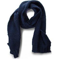 Szal EA7 EMPORIO ARMANI - 285398 8A734 31935 Black Iris. Niebieskie szaliki i chusty damskie EA7 Emporio Armani, z materiału. W wyprzedaży za 349.00 zł.