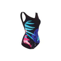 Strój jednoczęściowy do aquafitness KARLI Tropical damski. Czarne kostiumy jednoczęściowe damskie NABAIJI. W wyprzedaży za 79.99 zł.