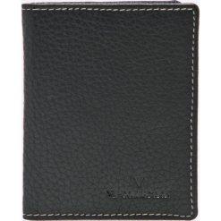 VIP COLLECTION - Portfel skórzany. Czarne portfele męskie VIP COLLECTION. W wyprzedaży za 24.90 zł.