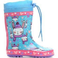 Niebieskie Kalosze Jumping Bunny. Kalosze chłopięce Born2be. Za 59.99 zł.