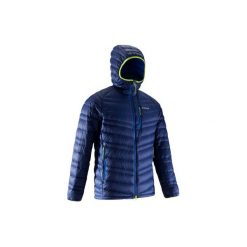 Kurtka alpinistyczna puchowa Alpinism Light męska. Niebieskie kurtki męskie SIMOND, z puchu. Za 299.99 zł.