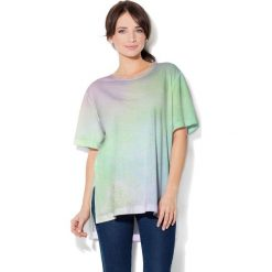 Colour Pleasure Koszulka CP-033 199 zielona r. uniwersalny. T-shirty damskie Colour Pleasure. Za 76.57 zł.