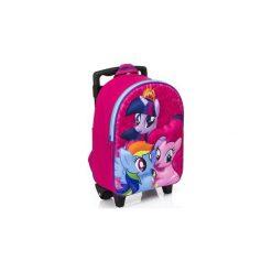 My Little Pony Kucyki Walizka Na Kólkach 3d Plecak. Różowe torby i plecaki dziecięce Świat Bajek. Za 82.90 zł.