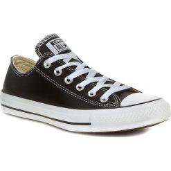 Trampki CONVERSE - CT Ox 132174C Black. Czarne trampki męskie Converse, z gumy. W wyprzedaży za 269.00 zł.