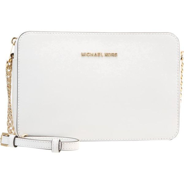 72508c6ff5ad3 MICHAEL Michael Kors JET SET TRAVEL CROSSBODY Torba na ramię optic ...