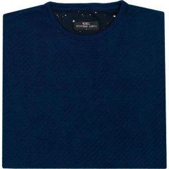 Sweter ALESSIO SWG000088. Brązowe swetry przez głowę męskie Giacomo Conti, na jesień, z materiału, z klasycznym kołnierzykiem. Za 259.00 zł.